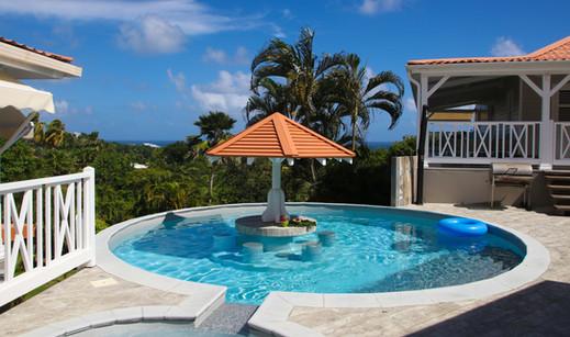 Maison d'hôtes avec piscine en Martinique