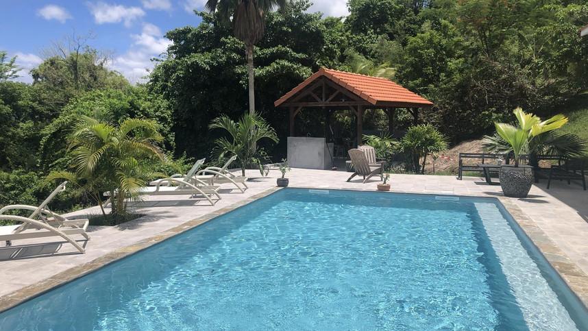 Appartement avec piscine et jacuzzi Le Diamant Martinique