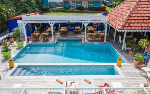 Hôtel avec piscine au François Martinique