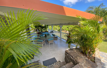 Terrasse Les Hauts du Cap Martinique