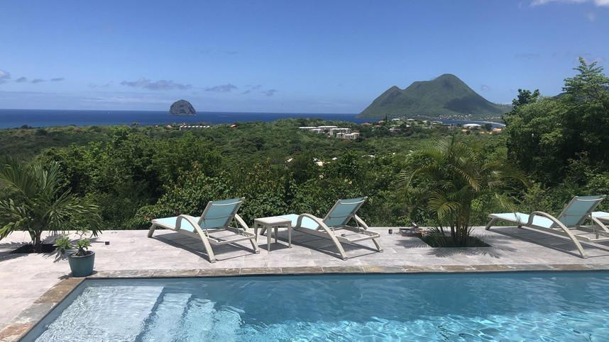 Appartement avec piscine Le Diamant Martinique