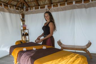 Massage à l'hôtel La Pagerie Martinique