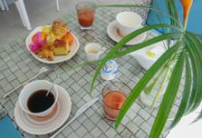Petit déjeuner maison d'hôtes Le Frannçois