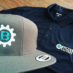 Some new gear we created with a logo we created