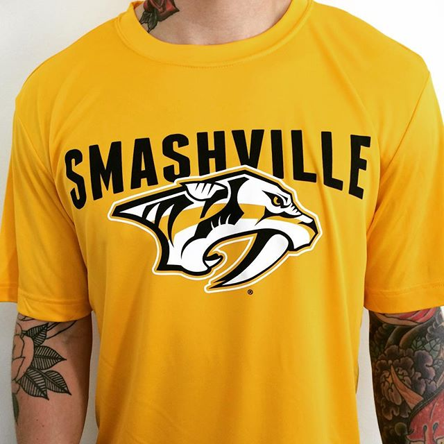 We couldn't be more proud of our _predsnhl and the opportunity to partner and produce Predators merc