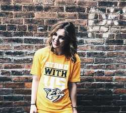 You can pick up these awesome Predators shirts we printed for _puckettsgrocery at their Nashville an