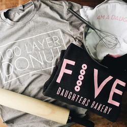 The only thing sweeter than this swag are the donuts! _five_daughters_bakery rolling in 2017 with so