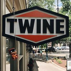 Just saw Batman _POP_ into Twine! 👀 We've got Exclusive _Twine_ Orange Batman Funko Pops! Come nerd