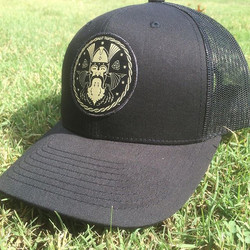 These hats for Asgard Brewing with high detail #custom #patches came out awesome