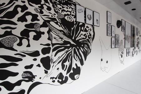 Sortir du cadre,  Art Bus - La Lune en Parachute, 2019