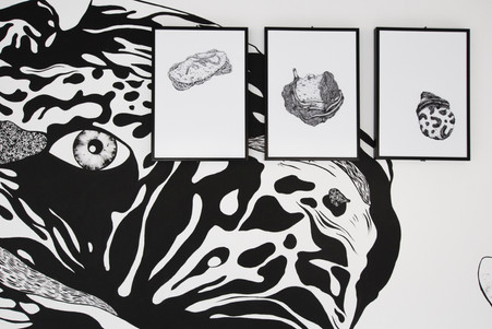 Sortir du cadre, détail Art Bus - La Lune en Parachute, 2019