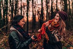 Beste Freunde Fotoshooting Anja und Boni