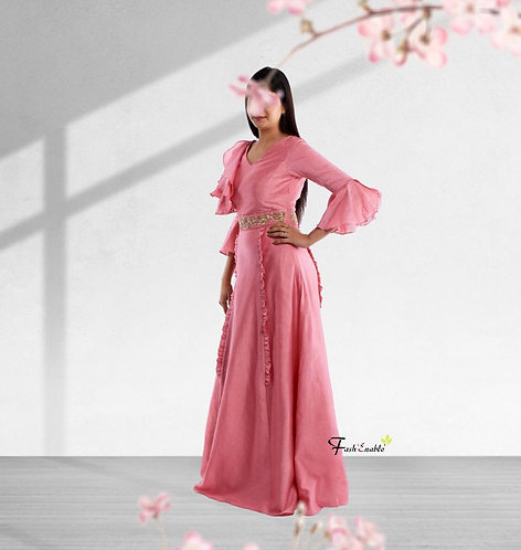 French Rose Dress