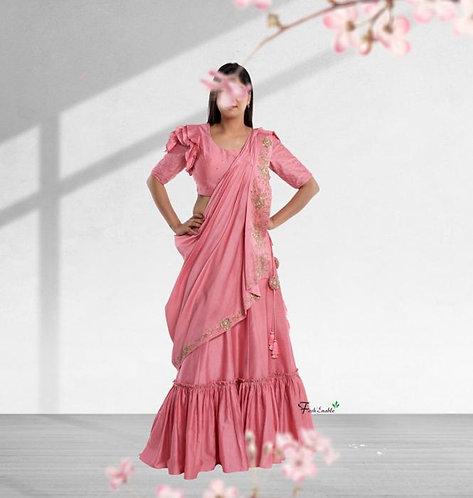 Blissfull Rose Lehenga