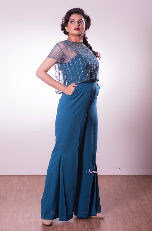 Dandelion Blue Jumpsuit
