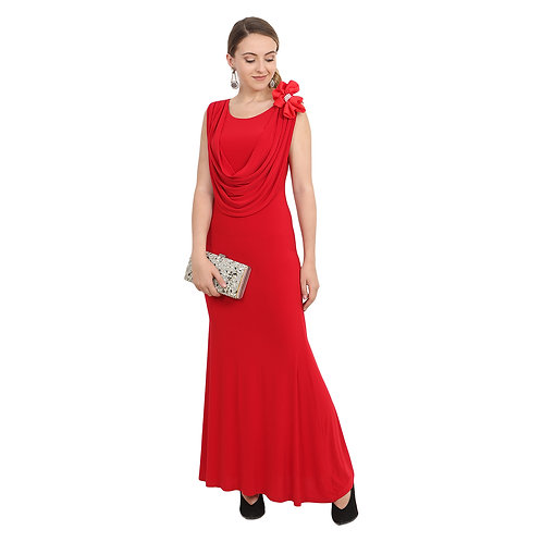 Red Bow Gown