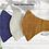 Thumbnail: Khadi Cotton Face Masks - Pack of 3 (Assorted)