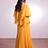 Thumbnail: Yellow Primrose Cape Gown