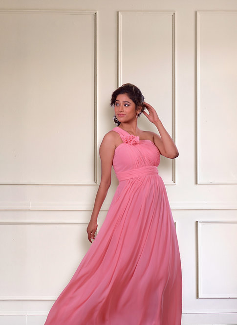 French Rose Gown