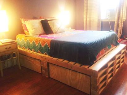 """""""Pallet"""" Bed Frame"""