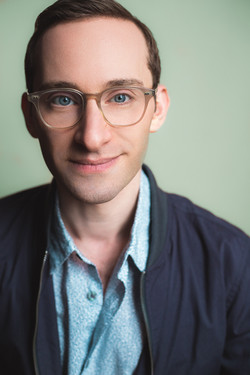 Ben with his glasses on