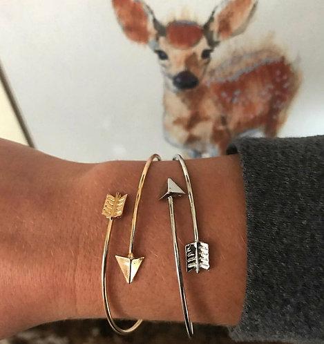 Darling Arrow Bracelet (silver or gold!)