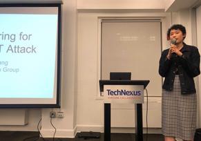 Ailin Zhang presenting