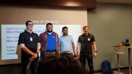 Dallas Hackathon Winners