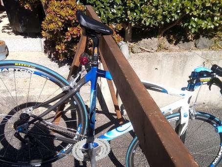 Duopowerを「サドル引掛け式」自転車スタンドに使用できるか?