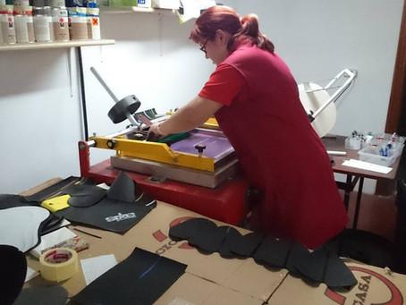 Essax/DUOPOWERサドルの作成工程(上皮工程)