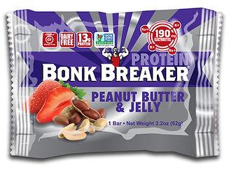 ボンクブレーカー ピーナッツバター ゼリー プロテイン