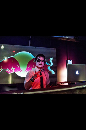 DJ Kitcho Halloween 2013 Purple Room.jpg