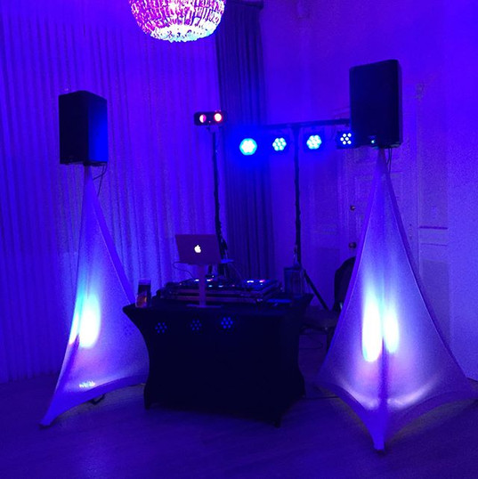 Dj'ing the U of W Charity Ball in suppor
