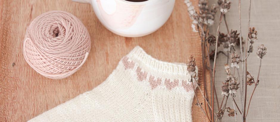 Spread the love Socken - Pattern release