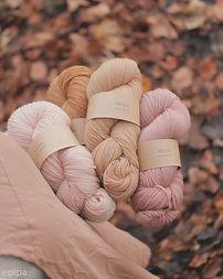 pflanzengefärbte Garne epipa yarns plantdyed yarn