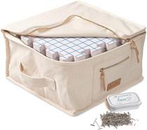 Spannmatten Set mit Tasche und Nadeln