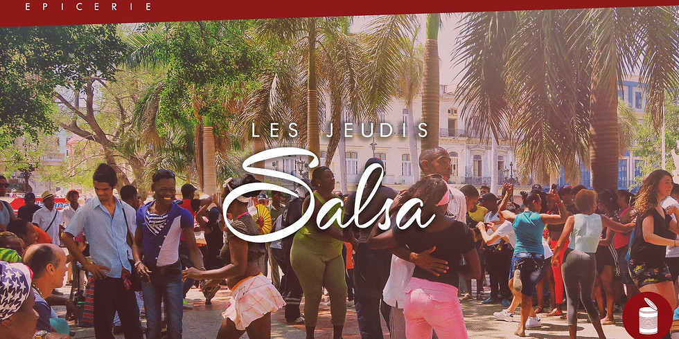 ANNULÉ - Les Jeudis Salsa