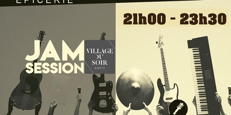 Jam Session / Scène ouverte / Village du Soir / Salle L'épicerie