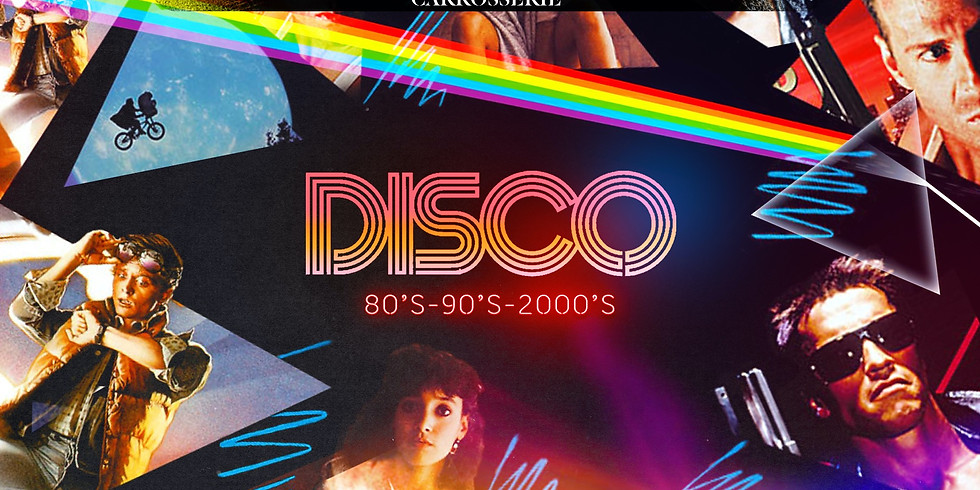 DISCO 80's 90's 2000's