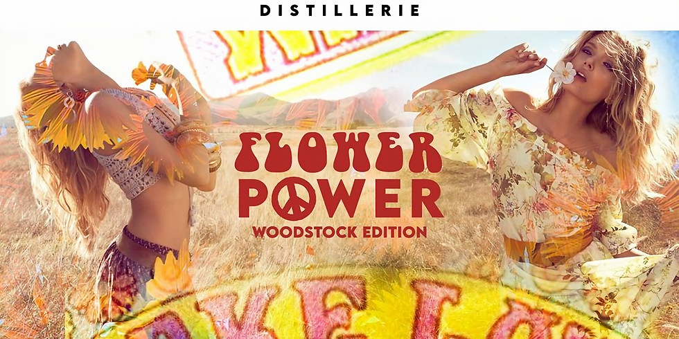 Flower Power - Woodstock Edition (Distillerie)