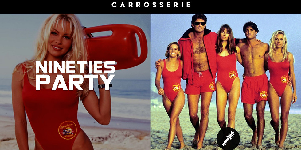 90's Party & All Style - Alerte à Malibu !