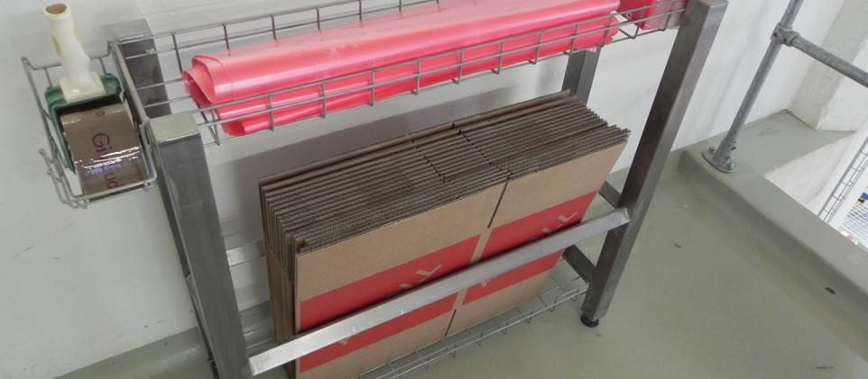 5S Leangestell Verpackung und Transport,