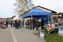 S Gwärb am chrampfä Gewerbeausstellung 2017