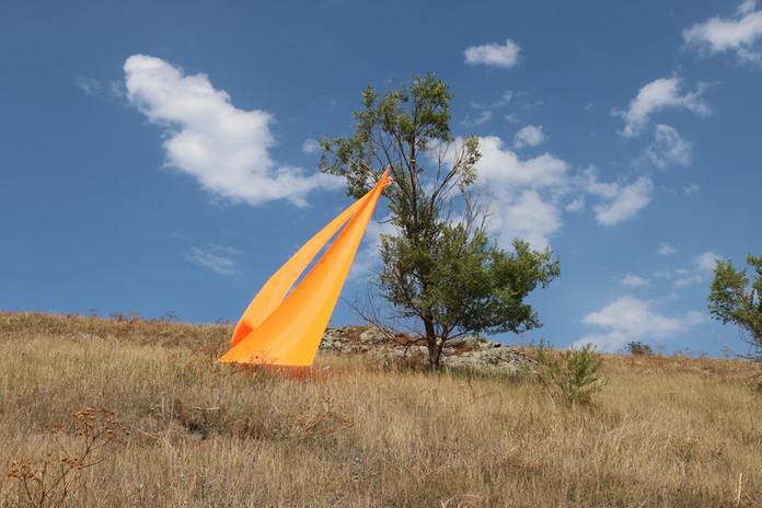 """Sails on a tree"", 2017"