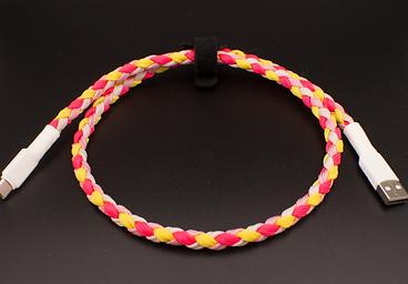 Strawberry Lemonade Braided cable