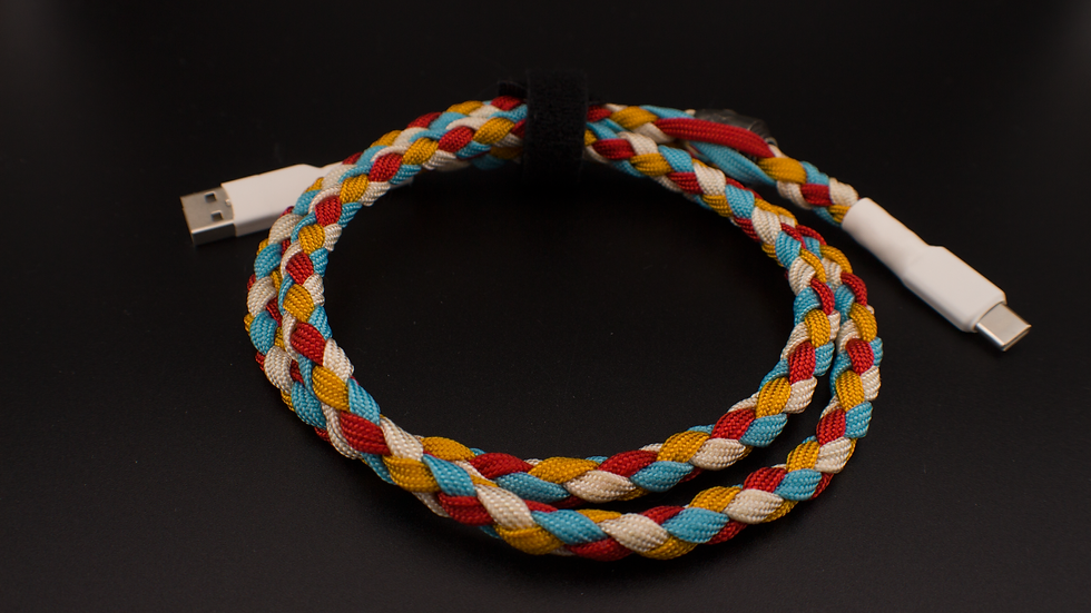 Musubi braided cable