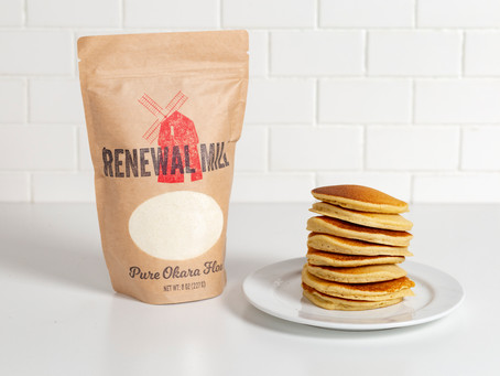 Eating Adventure for Breakfast, with Caroline Cotto, COO of Renewal Mill - Ep 05