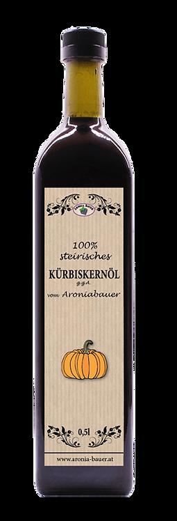 Unser orig. steirisches Kürbiskernöl 0,5l