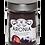 Thumbnail: Bio Aronia Pulver - gemahlene Schalen und Samen im Glas