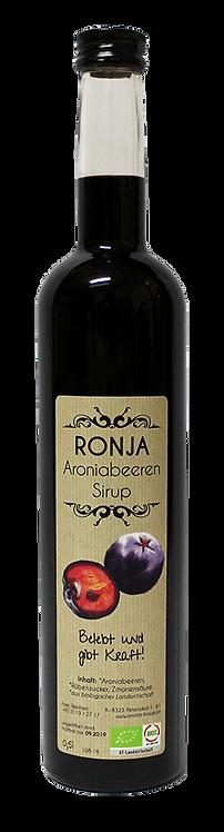 """RONJA""  Bio Aroniabeeren - Sirup 0,5l"